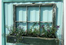 Ikkunanpokia/ Old window panes