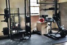 Home Gym / Remaking a small garage into a home garage gym