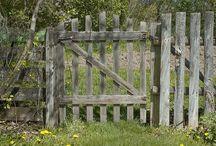 gates and arch ways / by Barbara Savage