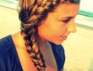 Will someone please do this to my hair?  / by Aubrey Ballinger
