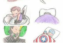 Advengers & Agents Of Shield