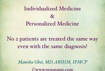 Functional Medicine / Individualized and personalized systems based medicine