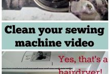 sewing machine cleaning tips