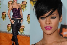 Rihanna Short Hairstyles 2013
