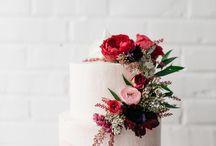 Bruiloft taart idee