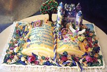 Let Them Eat Cake / Weird and wonderful Cake art / by Theresa Louise Perryman