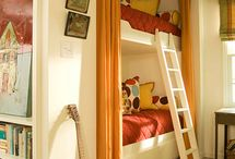 Bunk beds I adore / When my family rents vacation homes, we love to find homes with cool bunk beds. That way the cousins get to bunk together.  Someday when I own my own vacation home, I plan to build the most wonderful bund bed so that other families can experience the same joy. Therefore, this board is dedicated to finding the best bunk bed designs.