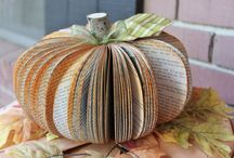 Book Art / Share some ideas of using those old weeded books.