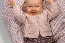 rosa babytrøje
