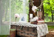 Decorazioni vintage per le nozze/ Vintage wedding decorations
