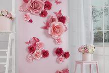 Papír virágok2