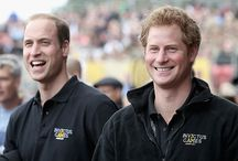 Prince William &Prince Harry