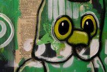 SUZAN BUCKNER ART --BIRDS AND OWLS