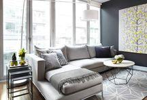 ARCH | INTERIOR | living room | corner sofa