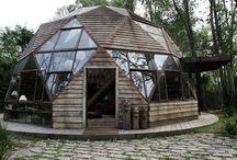 Dome & ecohouse & earthship & cob etc