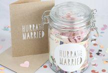 Dárky na svatbu