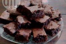 Receita brownie