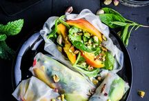 Healthy Lunch // Inspiration / Healthy and tasty lunch recipes to get you through the working day