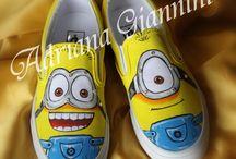 Le nostre scarpe dipinte a mano ♥