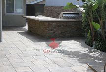 BBQ Projects - Go Pavers / Paver BBQ & Outdoor Kitchen projects installed by GoPavers.com in the Southern California area.