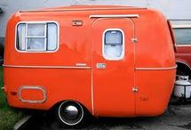 Vintage Caravan / Travel Trailer Inspirations!  / by Chaeli Marie Nylund