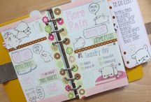 agende pucciose filofax / Agende super meravigliosamente decorate