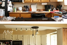 Before after kitchens / by Christine Hoar