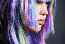 Hair raising color. / The fantastic hair color. / by Madame Truffaut