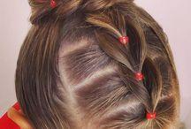 Girl hair