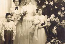 1950s bridal photos
