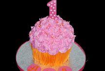 Katya's first birthday party