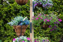 Flower poles
