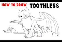 Børne tegninger