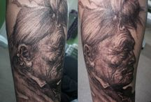 Igor Strukov. STR tattoo