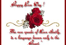 Rose day wishes / Rose day wishes