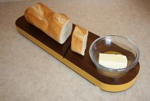 All natural cutting boards.  / Natural, safe, kitchenware made with organic and/or natural materials.