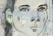 Art - Black, White and Pastels / by Luise