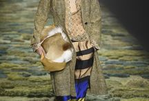 Dries Van Noten RTW Spring 2015 / For #PFW, Dries Van Noten mixed masses of prints, jacquards, fils coupe, embroideries and indigo-and-metallic-gold denim.