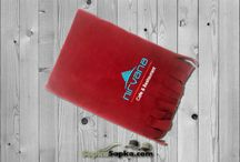 Polar Şal / Cafe ve Resraurantlar için özel firma logo nakışlı polar şal.