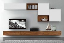 TV units & living room ideas