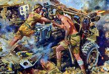 Cuneo War Art