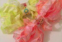 Tie Dye 2 Bundle / Tie Dye Yellow and Pink