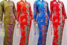 kebaya batik setelan rok pjng