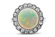 October Birthstone - Opal / celebrating the birthstone of the month, the Opal