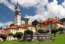 Kremnica town, Slovakia / Kremnica is historical mining town located in the mountains of Kremnica where gold was mined since the 11th century. Kremica is aspiring to be inscribed in the UNESCO World Heritage List.