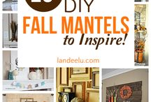 Fall Decor and Recipes