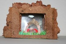 05. PAPER SCULPTURES / lavoretti sculture di carta / PAPER SCULPTURES - ART FOR KIDS