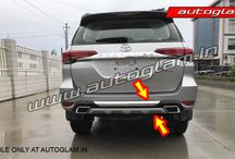Fortuner Rear Diffuser