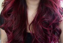 Os meus cabelos
