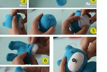 peluches a mano